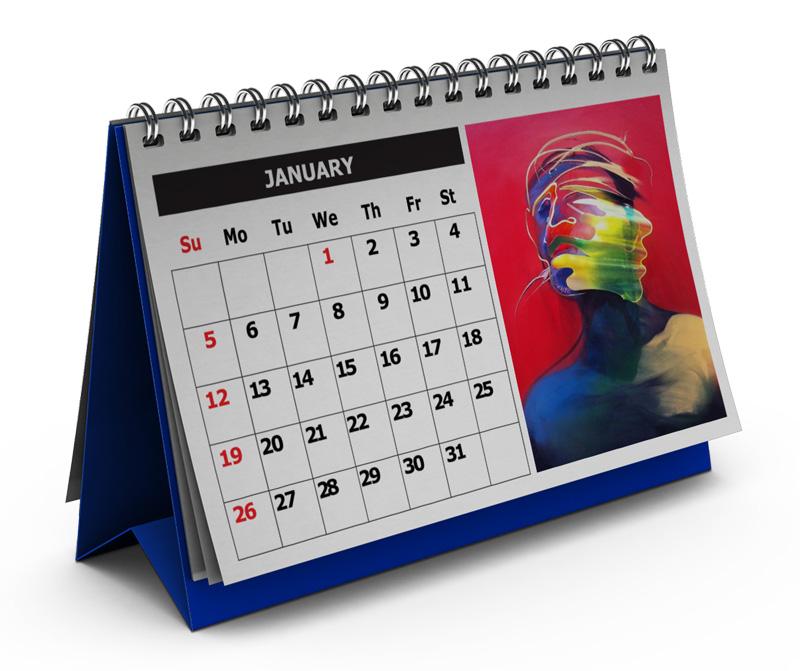 calendrier print
