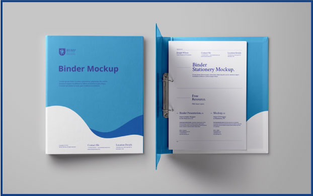 custom binders printing brussels mediaprocess